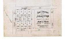 Abel F. Rice 1894, Allston 1890c Survey Plans